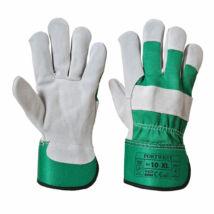 A220 Prémium bőrkesztyű zöld