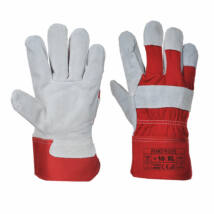 A220 Prémium bőrkesztyű piros