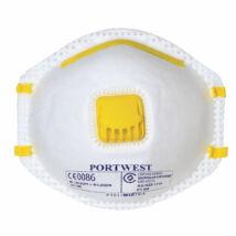 P101 - A FFP1 szelepes porálarc 10 db/doboz - Fehér