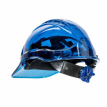 PV60 - Peak View Plus gyorsbeállítós átlátszó védősisak szellőző - Kék