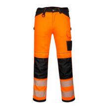 PW340 - PW3 Hi-Vis nadrág - Narancs/Fekete