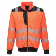 PW370 - PW3 Hi-Vis pulóver - Narancs/Fekete
