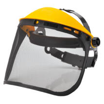 PW93 - Hálós arcvédő - Fekete