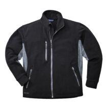 TX40 - Texo kéttonosú polár pulóver - Fekete