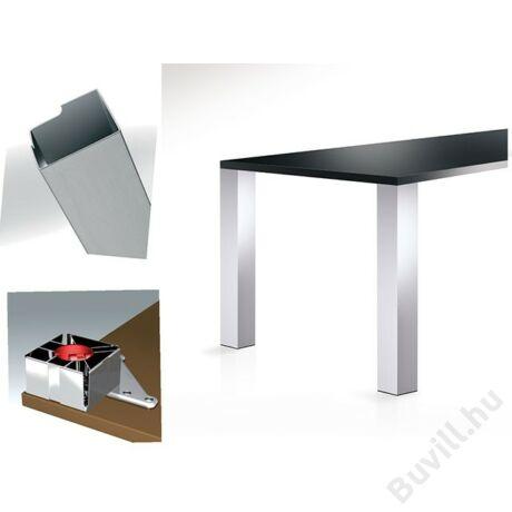 642 Eiltline 710mm Asztalláb 100x100mm Inox10001508500 - 00001508500