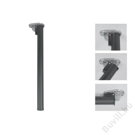 656 Click becsukható Asztalláb 710mm Ø50mm fekete10001508700 - 00001508700