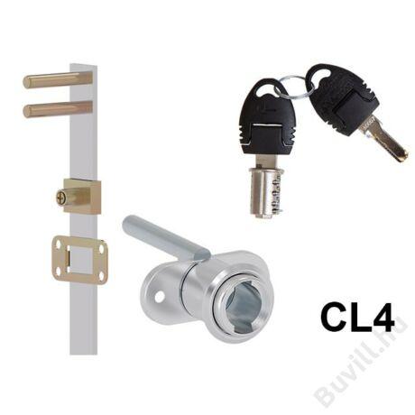 702-CL4 Központi fiókzár elölről zárható 4fiókhoz 600mm10003230360 - 00003230360