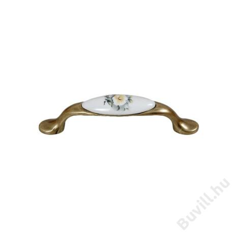 E052-96 Antik bronz-Szürke virág10007652051 - 00007652051