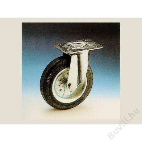 350/B.100 Talpas ipari kerék Fekete 10010500080