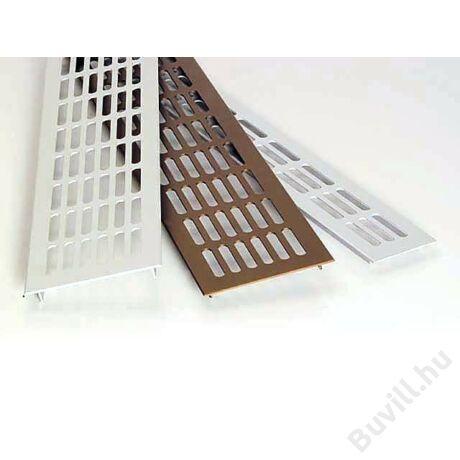 Négyszög alakú rács 60x400mm Alumínium10014210010 - 00014210010