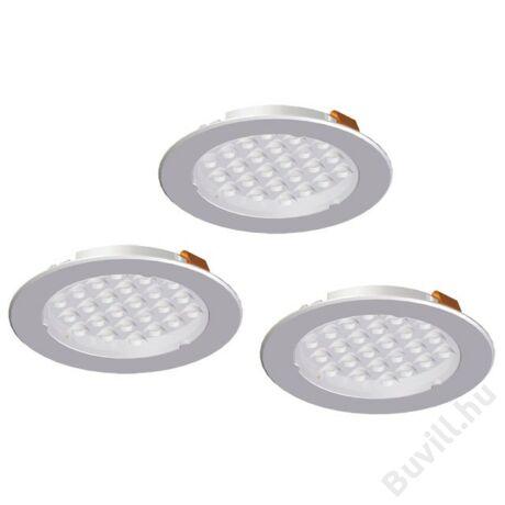 METRIS V12 LED lámpa szett 3x1,6W Alumínium 10015608541