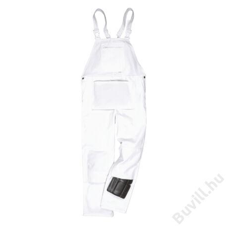 S810 - Festő mellesnadrág - Fehér - PW-S810WHR