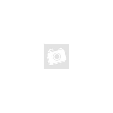 PERRY - egy oldalon pöttyözött pamut kesztyű fehér-kék - VO-A9011